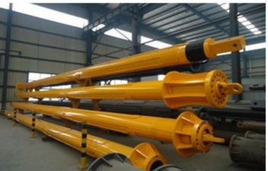 Professional Large Caliber Kelly Bar Piling Heat Treatment Forging Steel Material